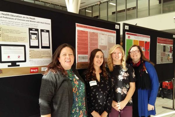 On November 14th, four members of the Heart Innovation Research Project Team presented 5 posters at the first Niagara Health Research Day.#niagarahealthresearchday